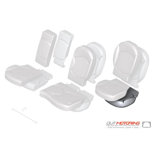 Foam Pad: Base Seat: Rear Right