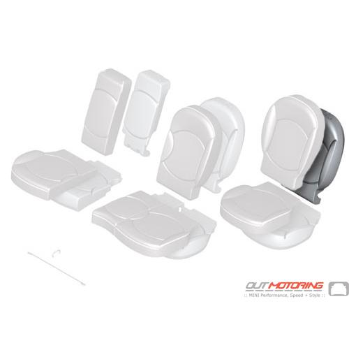 Foam Pad: Base Backrest: Rear Right