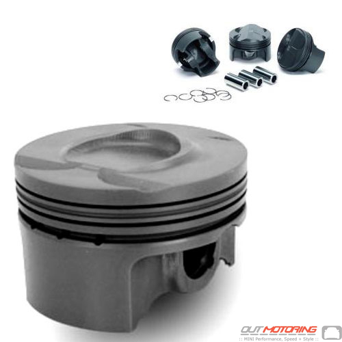 P4-MIN56-77.5CR10.5 MINI Cooper Supertech Piston Set