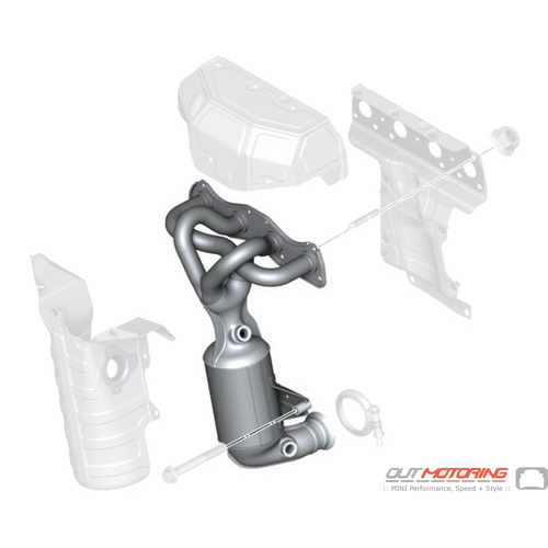 RP-Exhaust Manifold W/ Catalytic Converter