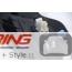 Side Marker Housing Set: Gloss Black: R60/1