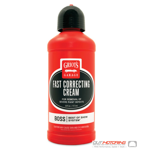 Griots BOSS: Fast Correcting Cream 16oz