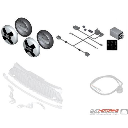 63122288982 mini cooper replacement retrofit kit led auxiliary