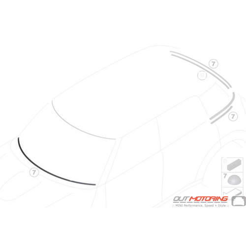 Support Strip Cover: Air Deflector