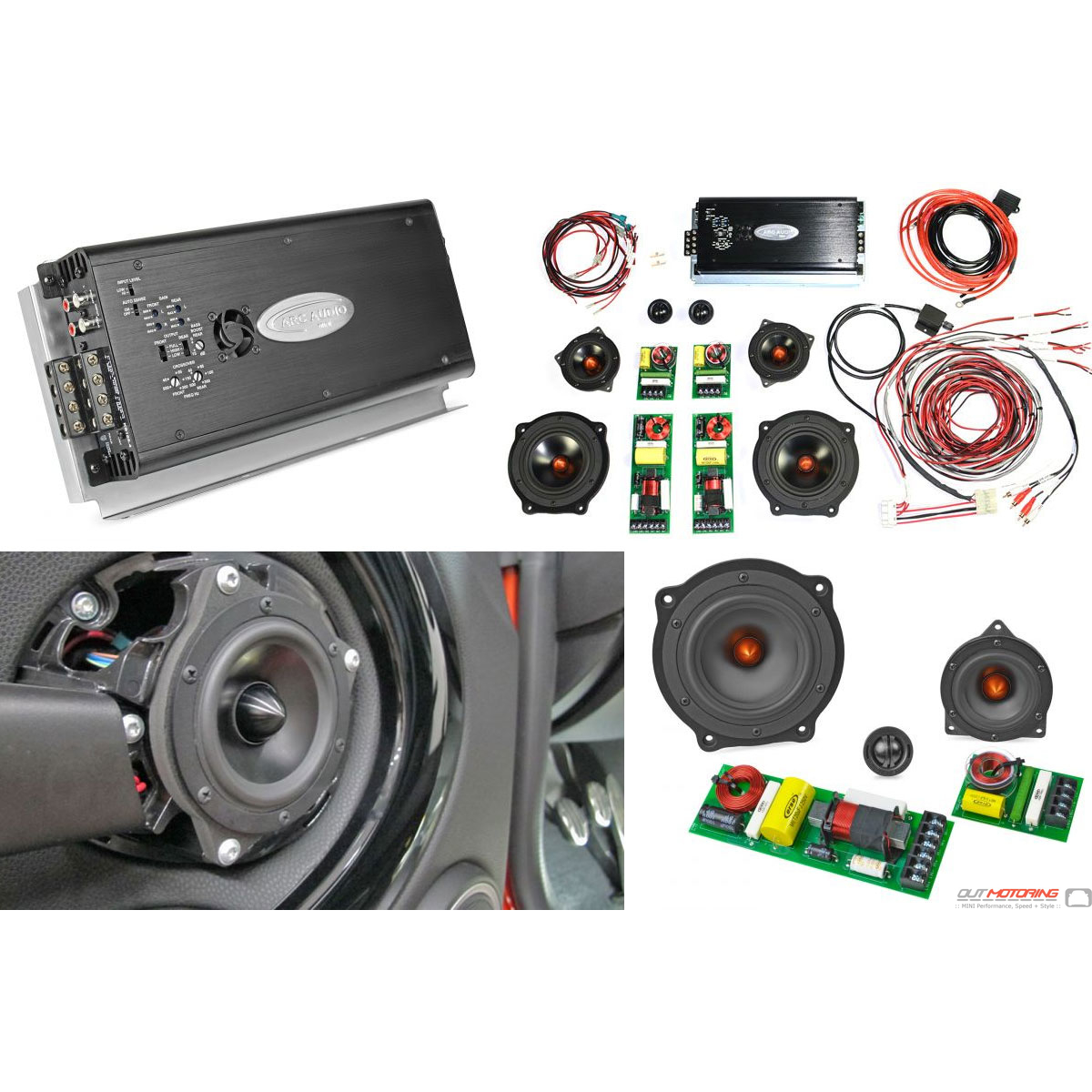 soundstage speaker kit mini cooper integral audio mini. Black Bedroom Furniture Sets. Home Design Ideas