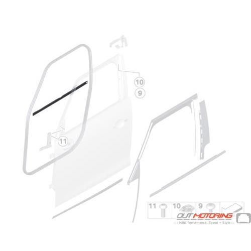 Window Channel Cover: Inner Left
