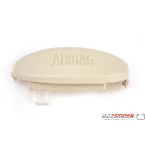"Cover Cap ""Airbag"": B-pillar: Right: Light Beige"