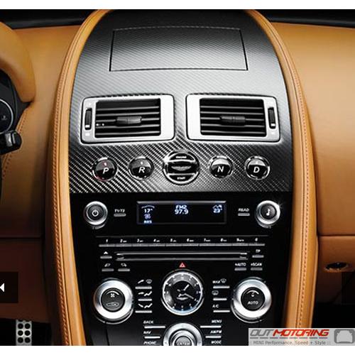Bd33 045j10 Ca Aston Martin Carbon Fiber Console Trim Mini Cooper Accessories Mini Cooper Parts