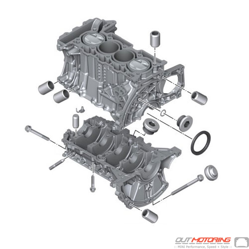Engine Block W/ Crankgear