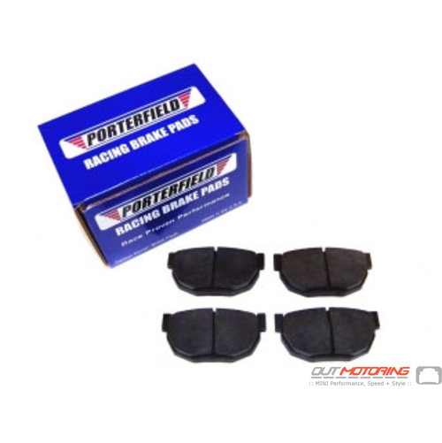 Porterfield R4 Brake Pads: Aston Martin: Front Set