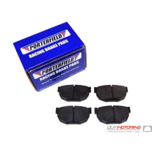 Porterfield R4 Brake Pads: Aston Martin: Rear Set
