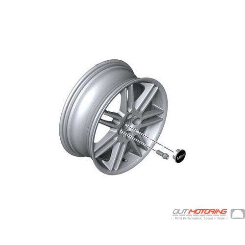 Complete Set: Alloy Wheels: R99: Gray Metallic