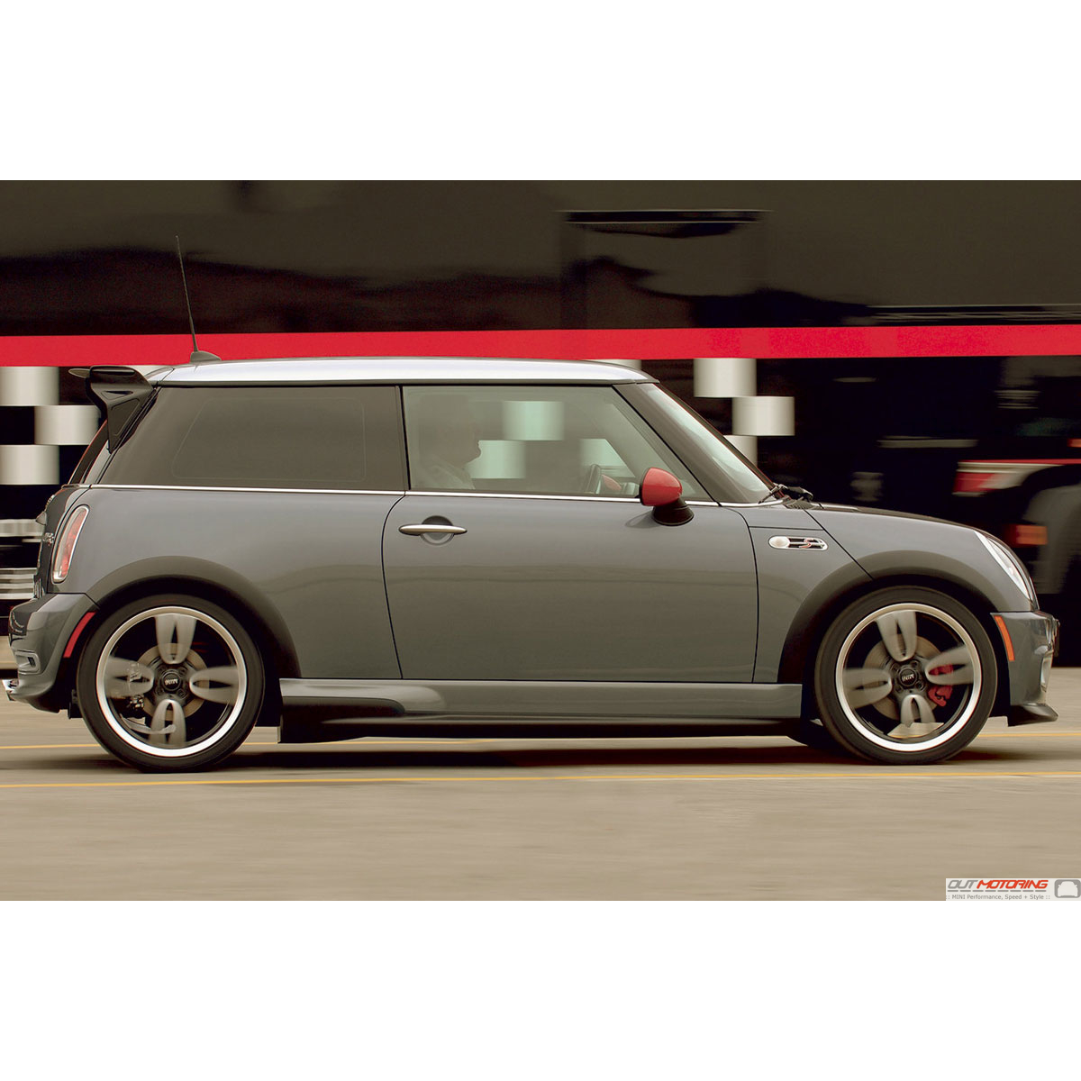 51777182557 mini cooper gp jcw aero kit side skirts rocker panels mini cooper accessories Mini cooper exterior accessories