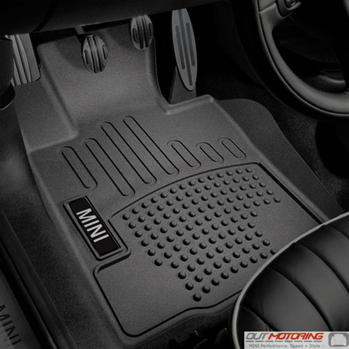 Floor Mats: High Wall Liners: Countryman + Paceman