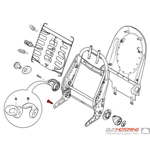 Screw w/ Anti-Rotation Lock