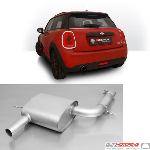 Remus Exhaust: Axle Back: F56