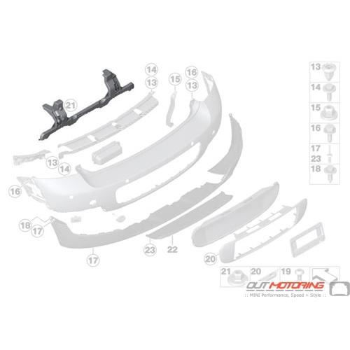 Rear Bumper: Guide: Rear Center