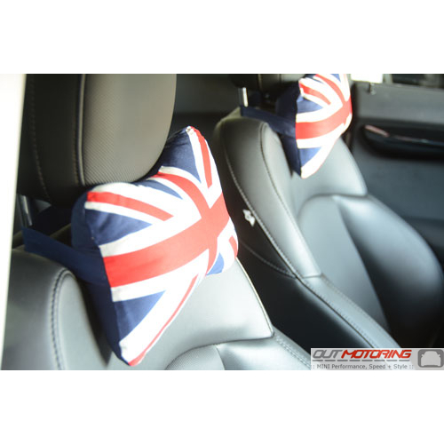 Pillow Set: Headrest: Union Jack