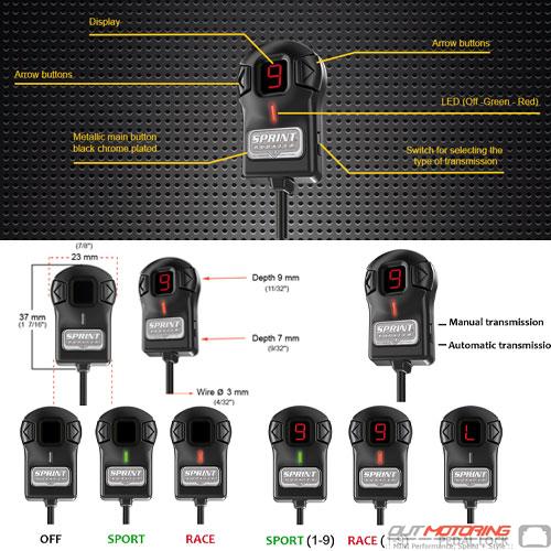 Sprint Booster Version 3 for Mini Cooper PN:BLK-MINIV3