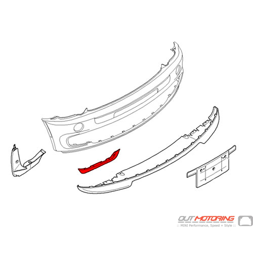 GP Front Lower Lip Seal: Right