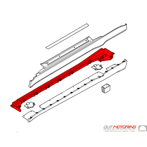 GP Sill Support: Left