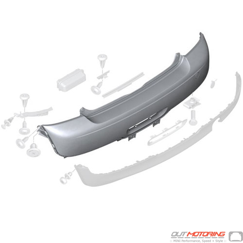 Trim Panel: Bumper: Rear