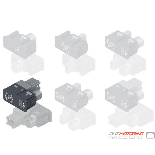 USB/Aux-In Socket
