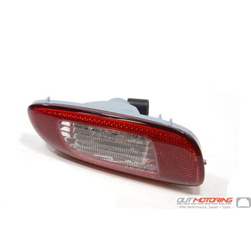 Rear Fog Lamp W/ Reverse Light: Left