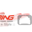 "JCW Badge: Stick on: Chrome Metal 5.25"""