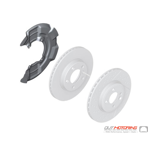 Protection Plate: Front Wheel