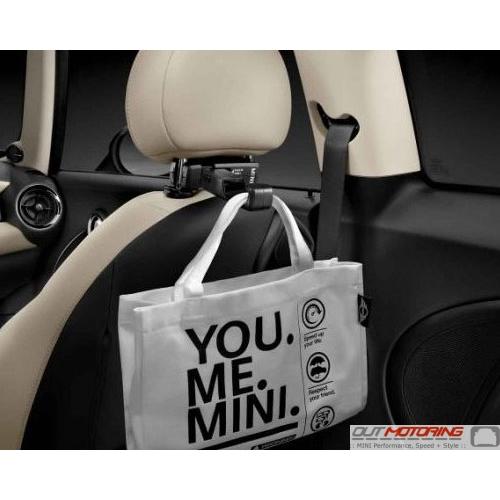 Headrest Attachment: Bag Hook