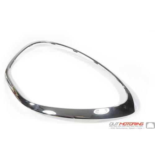 Headlight Trim: Chrome: Right: R60/61