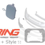 Towing Eye Cover: Primed: Front
