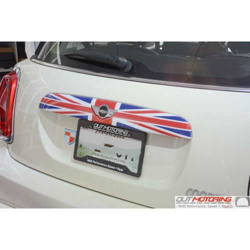 Boot Handle Cover: Union Jack: F55/6/7 OLD Logo
