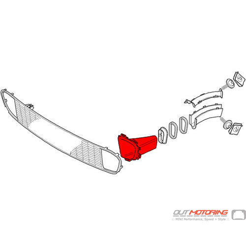 Air Brake Channel: Front: Left