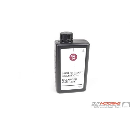 MINI Synthetic Oil: Quart 0w-30