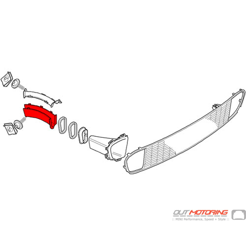 Brake Duct: Right: Lower: Rear