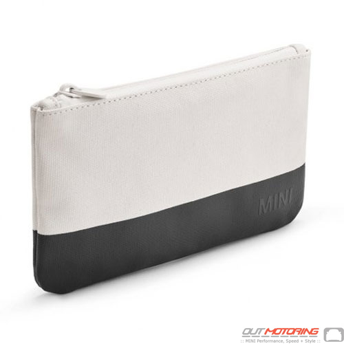 Pouch: Small: White/Black