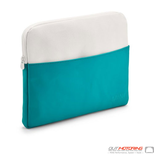 Tablet: Case: White/Aqua