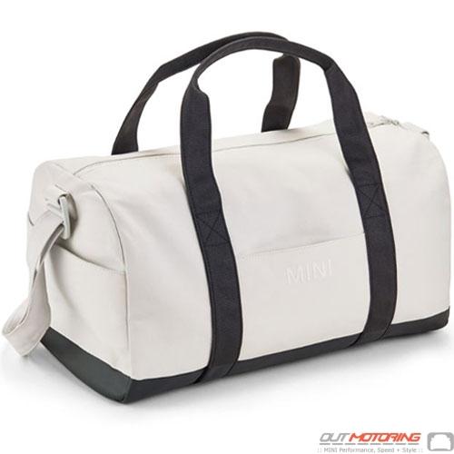 Duffle Bag: White/Black