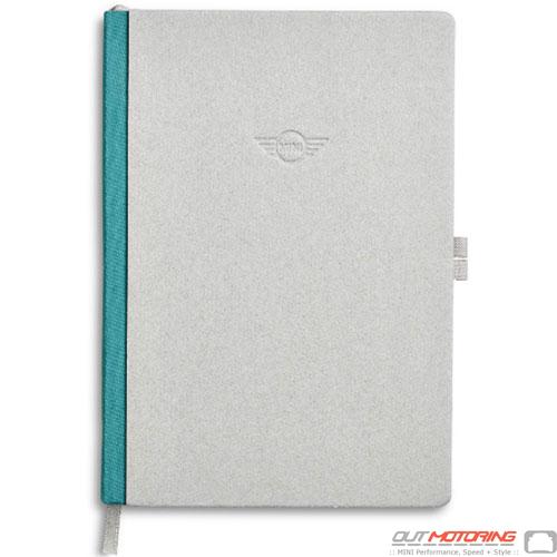 Notebook: Gray/Aqua
