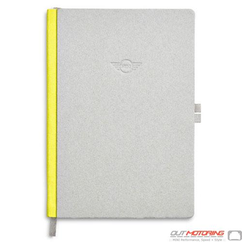 Notebook: Gray/Lemon