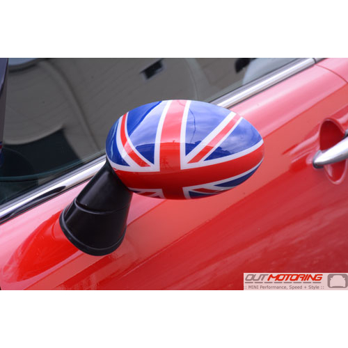 Side Mirror Covers: Gen2 Stick-on: NON PowerFold: Union Jack