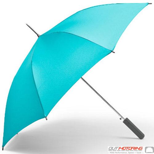 Umbrella: Walking Stick: Aqua