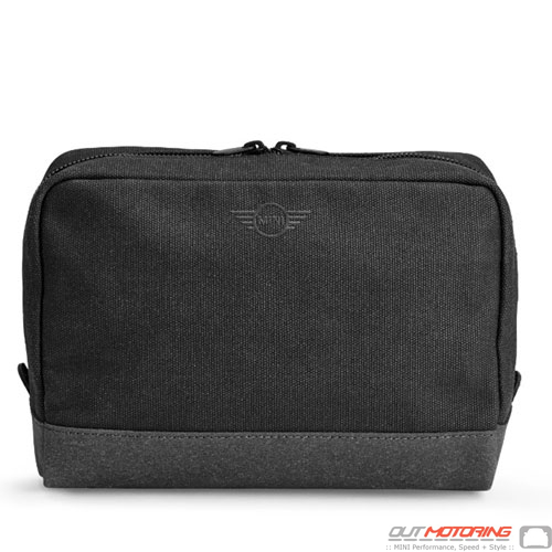 Large Pouch: Black/Gray