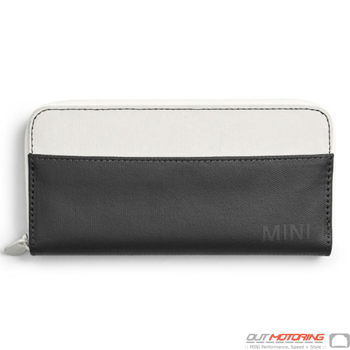 Wallet: White/Black
