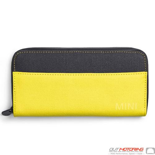 Wallet: Gray/Lemon