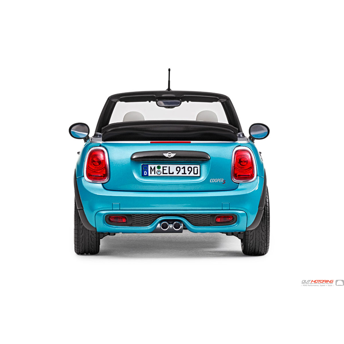 Mini Cooper Convertible Top In Blue Oem Twillfast Rpc With: 80432405584 MINI Convertible F57 Miniature
