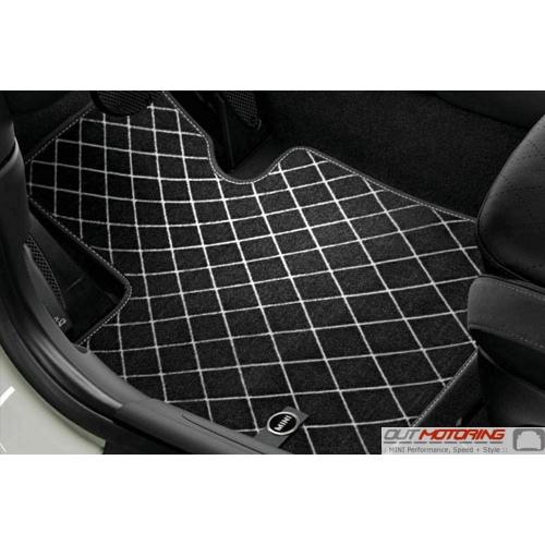 Floor Mats: Carpet: Front 'Diamond' F60