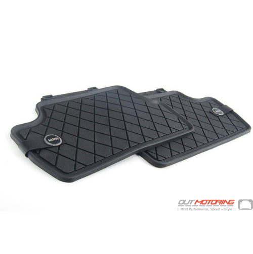 Floor Mats: All-Weather: Rear F60